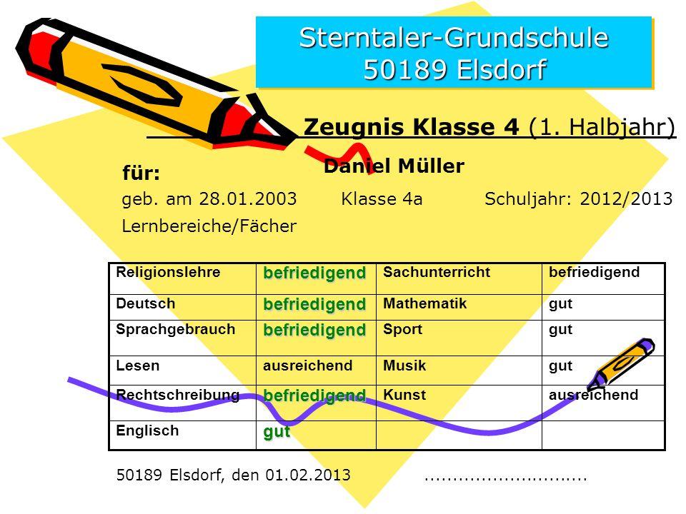 Sterntaler-Grundschule 50189 Elsdorf