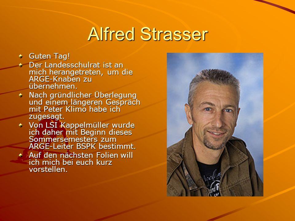 Alfred Strasser Guten Tag!