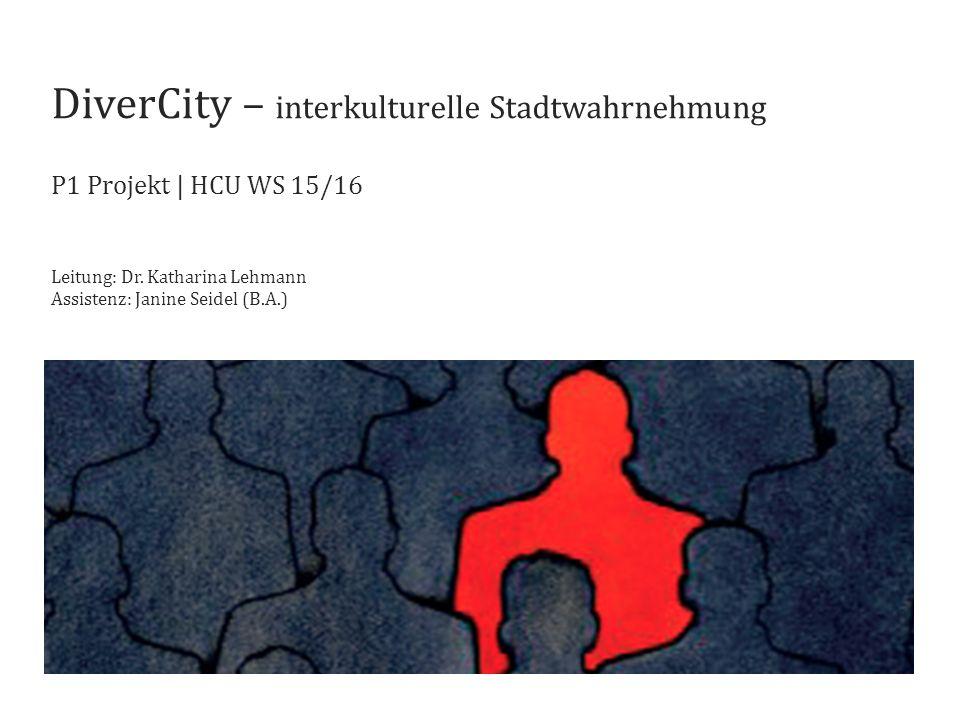DiverCity – interkulturelle Stadtwahrnehmung