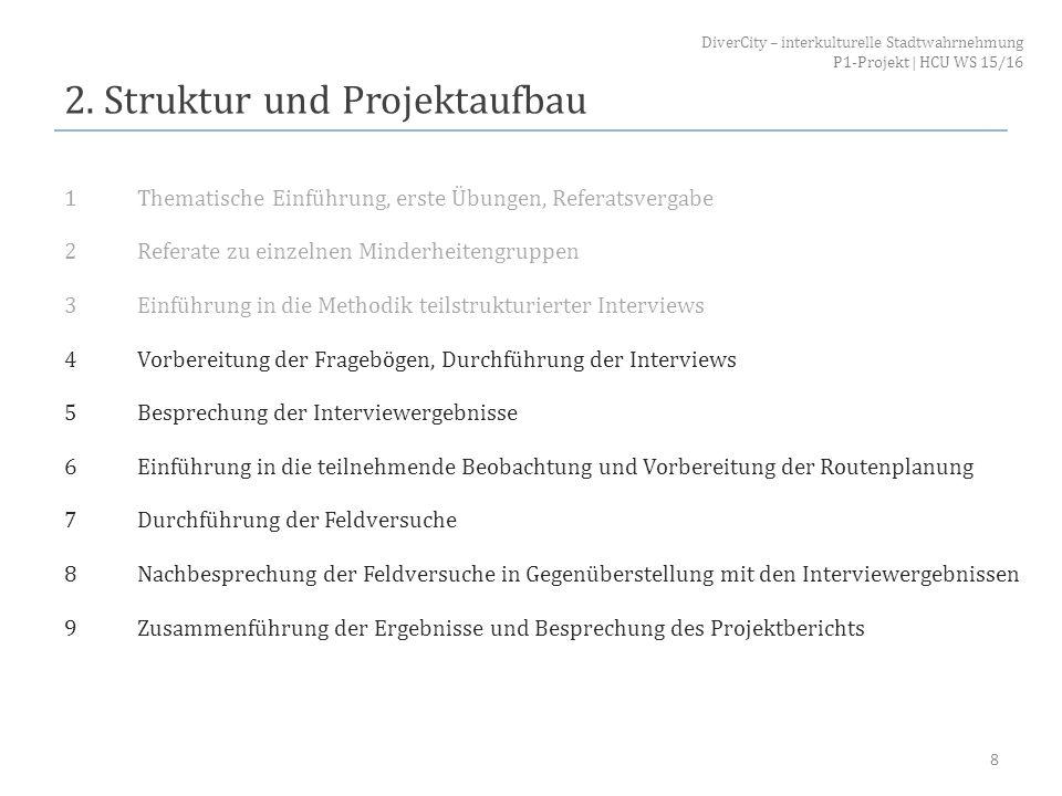 2. Struktur und Projektaufbau