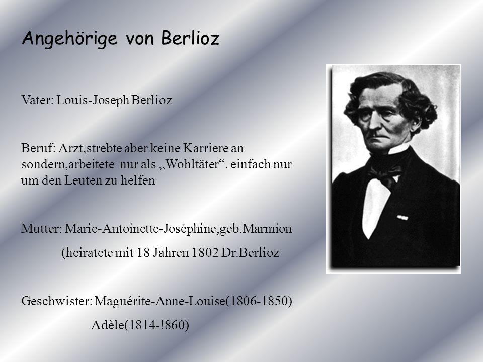 Angehörige von Berlioz