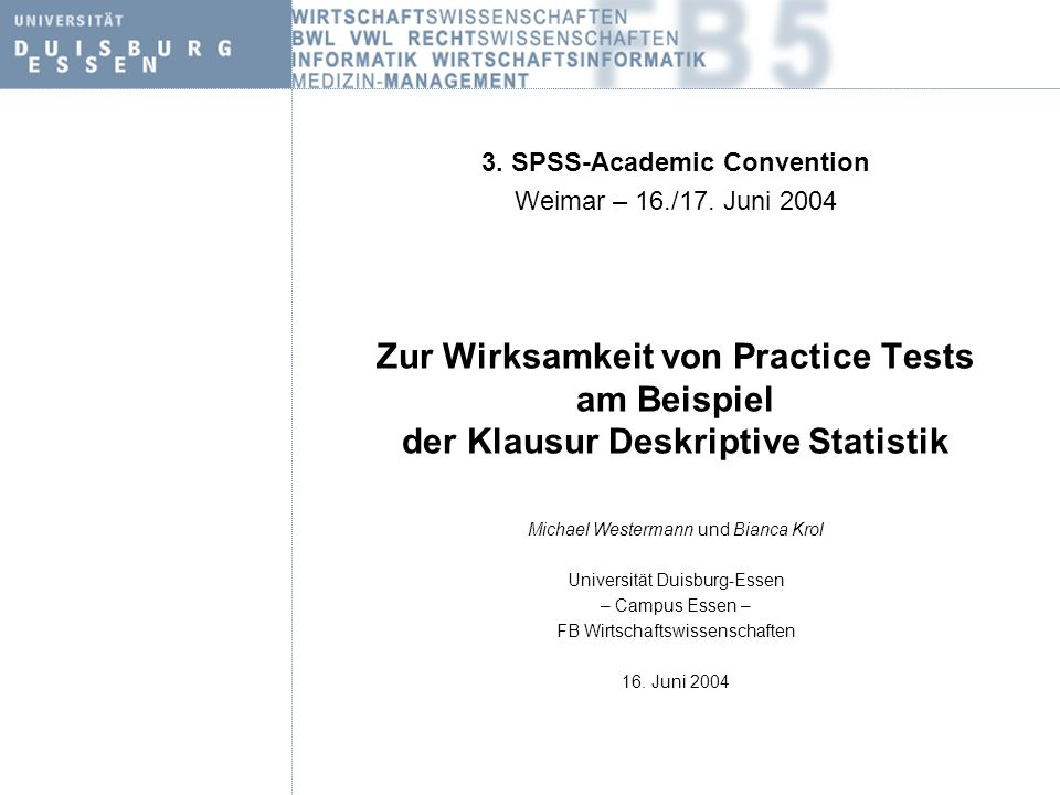 3. SPSS-Academic Convention