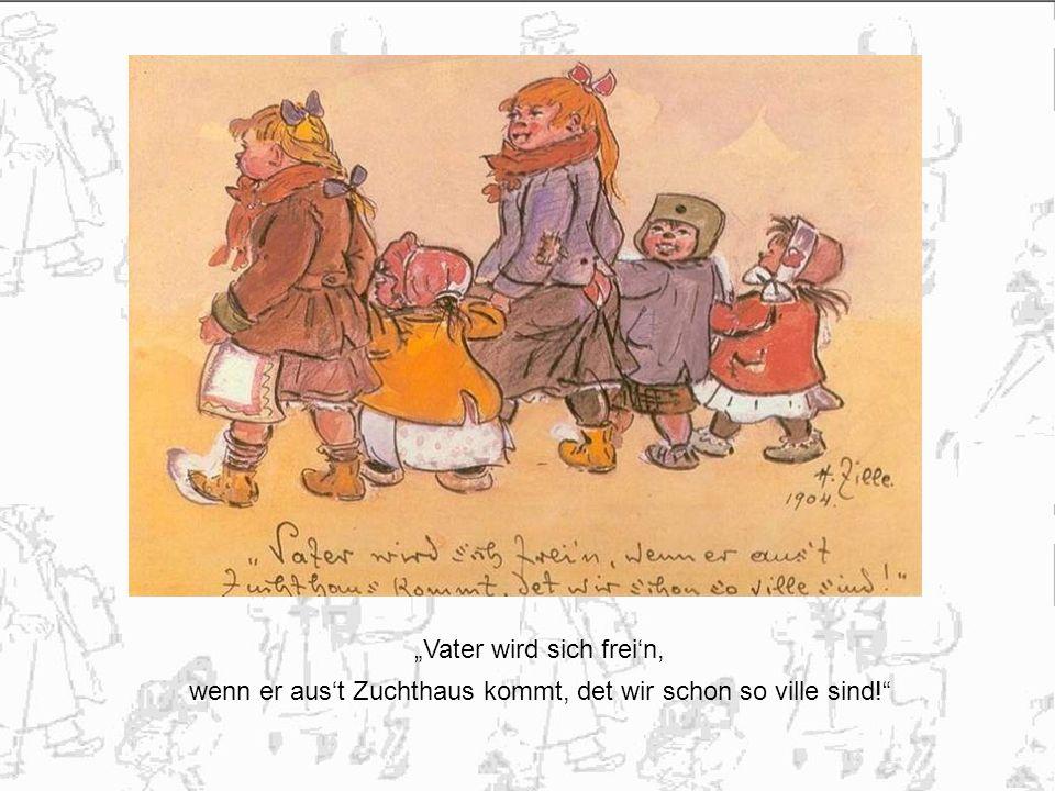 """""""Vater wird sich frei'n,"""