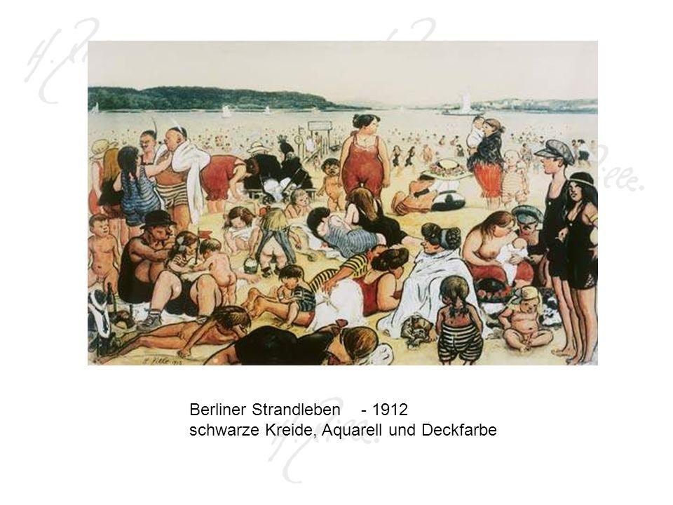 Berliner Strandleben - 1912