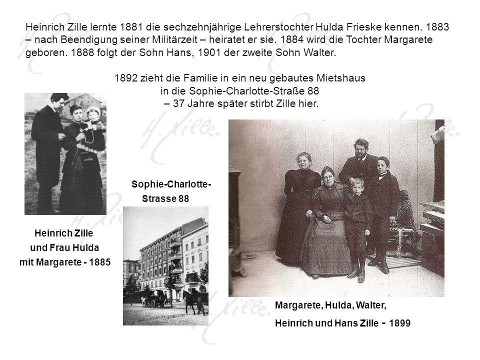 1892 zieht die Familie in ein neu gebautes Mietshaus