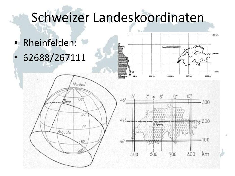 Schweizer Landeskoordinaten