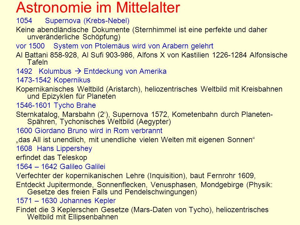 Astronomie im Mittelalter
