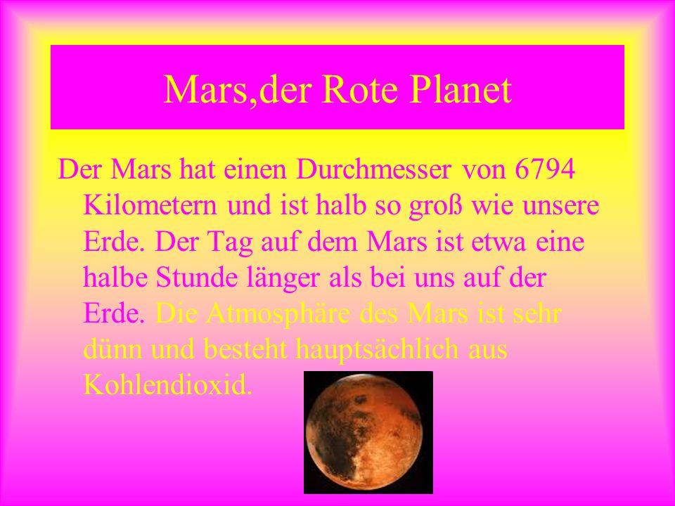 Mars,der Rote Planet