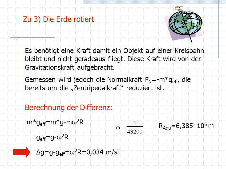 Berechnung der Differenz: