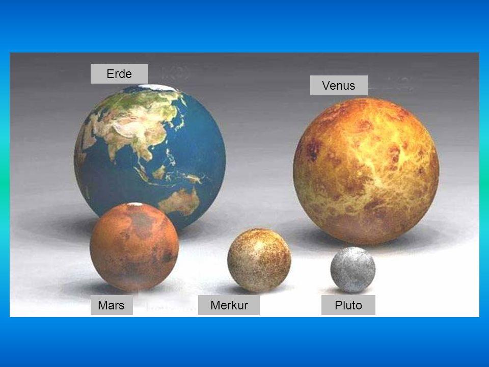 Erde Venus Mars Merkur Pluto