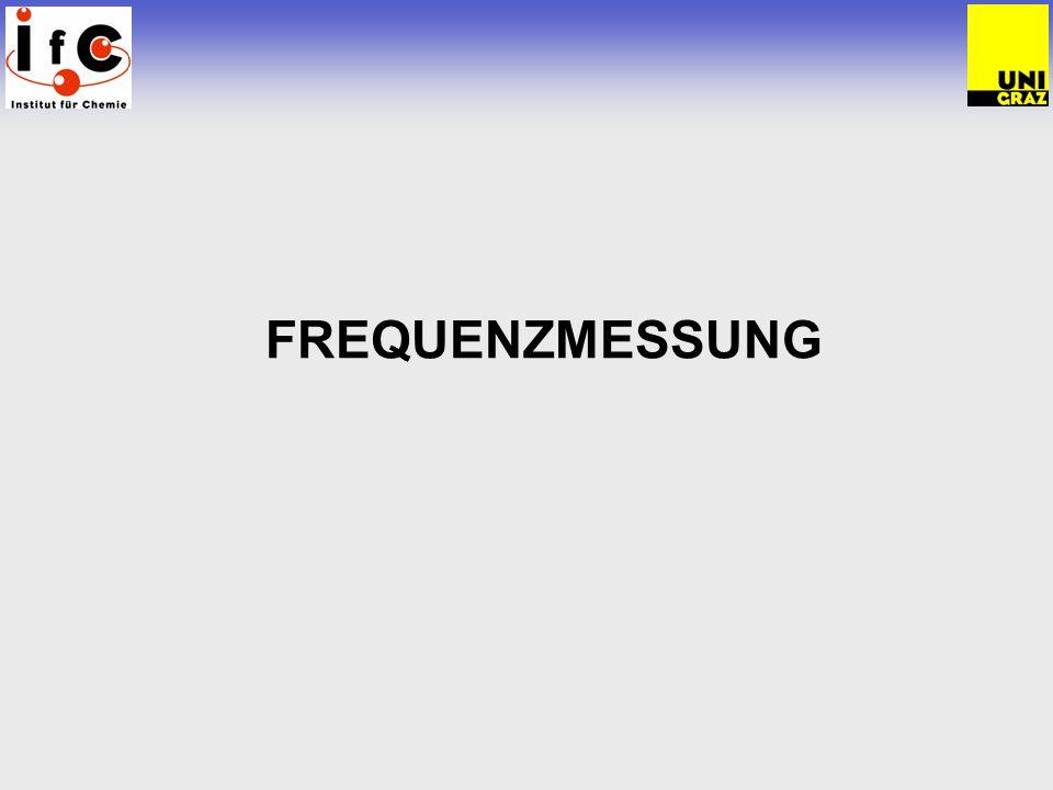 FREQUENZMESSUNG