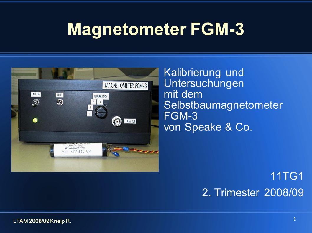 Magnetometer FGM-3