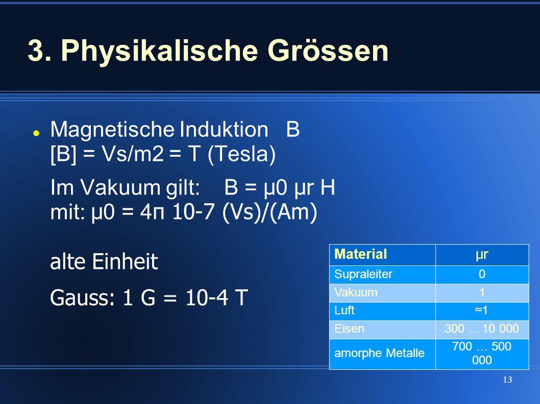 3. Physikalische Grössen