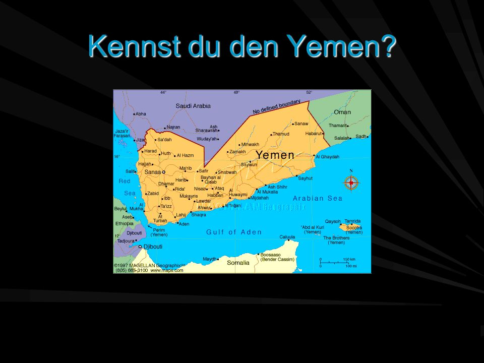 Kennst du den Yemen