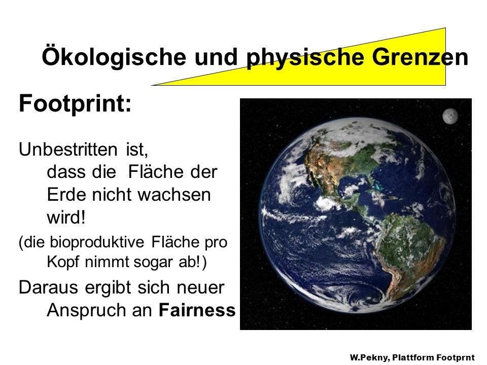 Ökologische und physische Grenzen