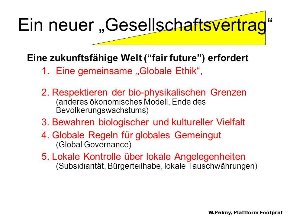 """Ein neuer """"Gesellschaftsvertrag"""