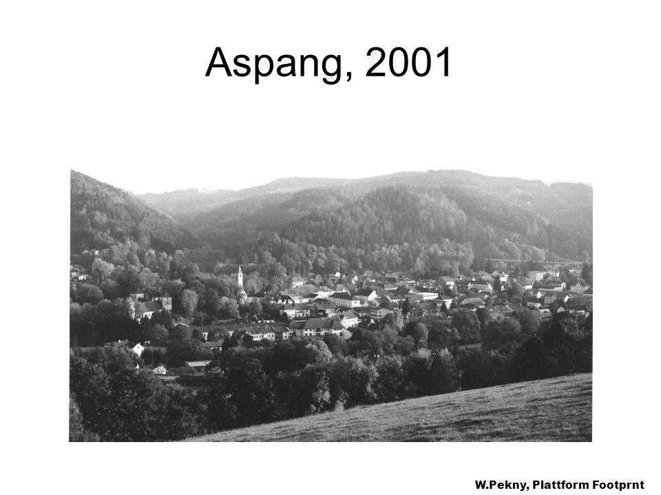 Aspang, 2001 W.Pekny, Plattform Footprnt