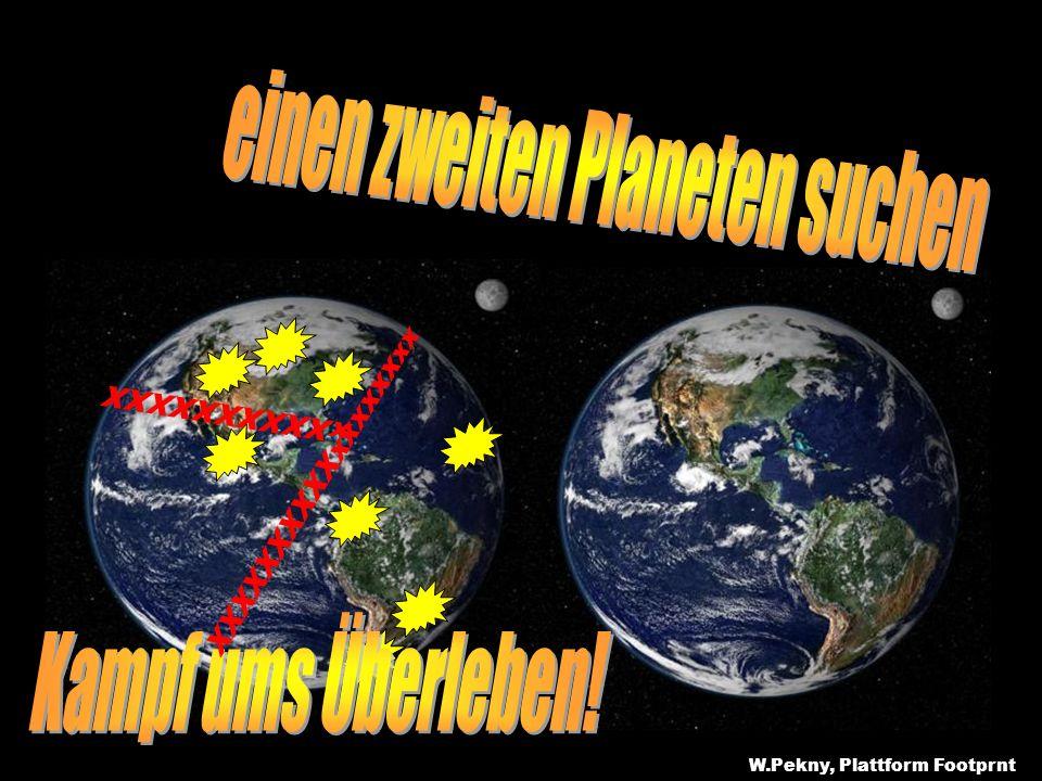 einen zweiten Planeten suchen