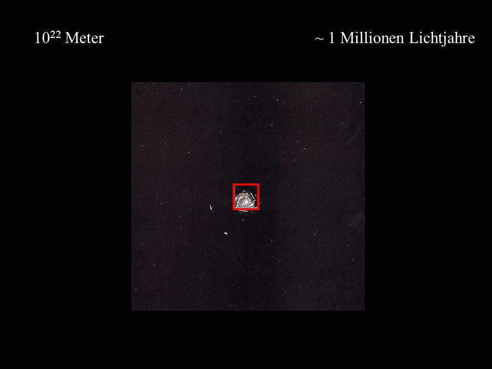 1022 Meter ~ 1 Millionen Lichtjahre