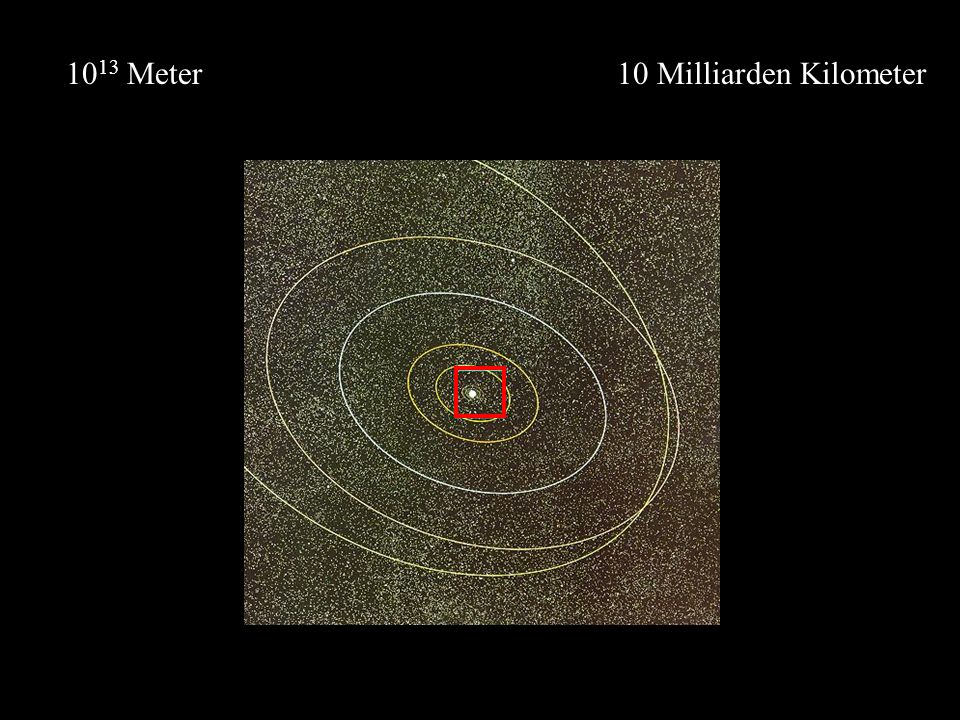 1013 Meter 10 Milliarden Kilometer
