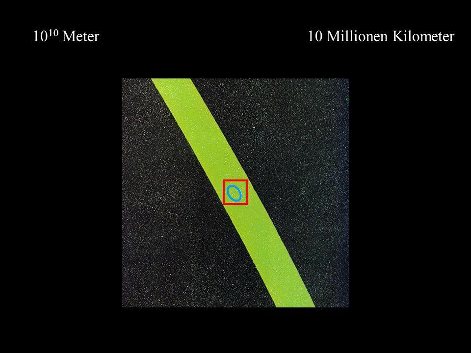 1010 Meter 10 Millionen Kilometer