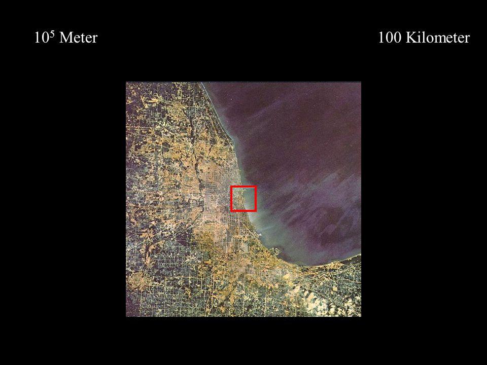 105 Meter 100 Kilometer