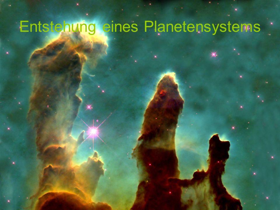 Entstehung eines Planetensystems