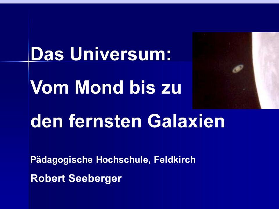 Das Universum: Vom Mond bis zu den fernsten Galaxien Robert Seeberger