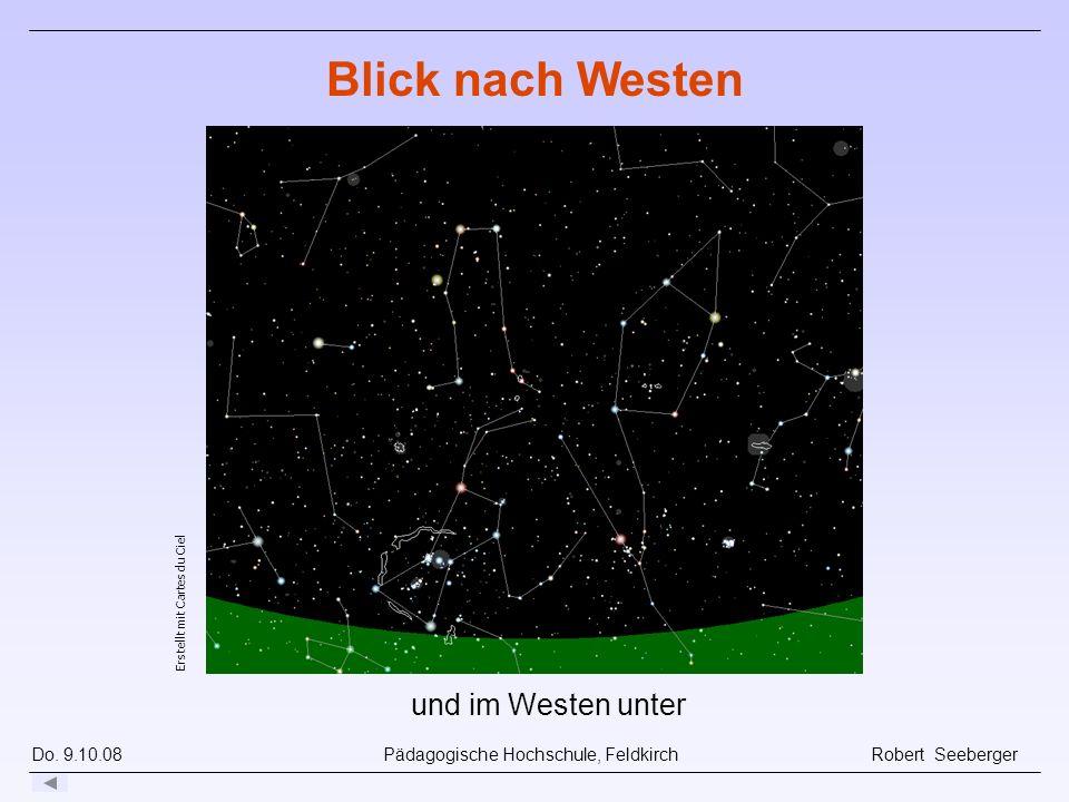 Blick nach Westen und im Westen unter Im Westen unter