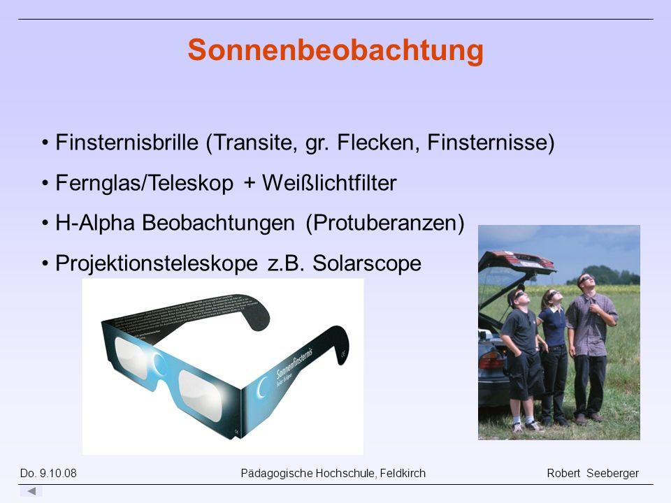 Sonnenbeobachtung Finsternisbrille (Transite, gr. Flecken, Finsternisse) Fernglas/Teleskop + Weißlichtfilter.