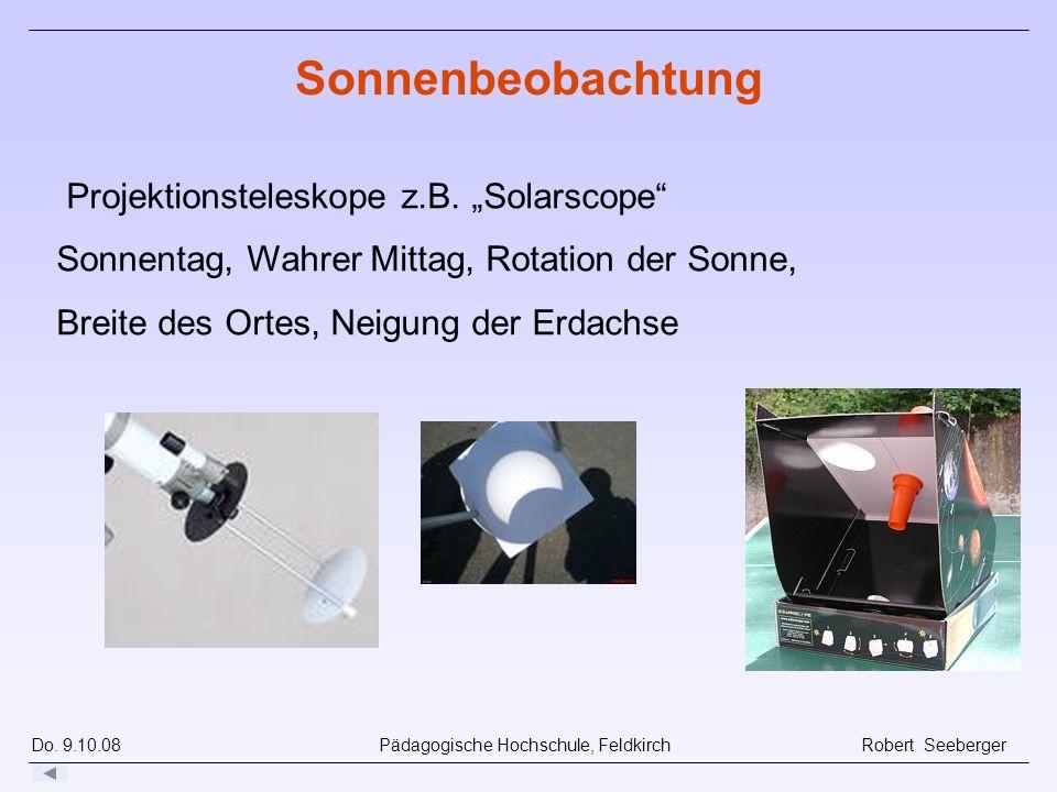 """Sonnenbeobachtung Projektionsteleskope z.B. """"Solarscope"""
