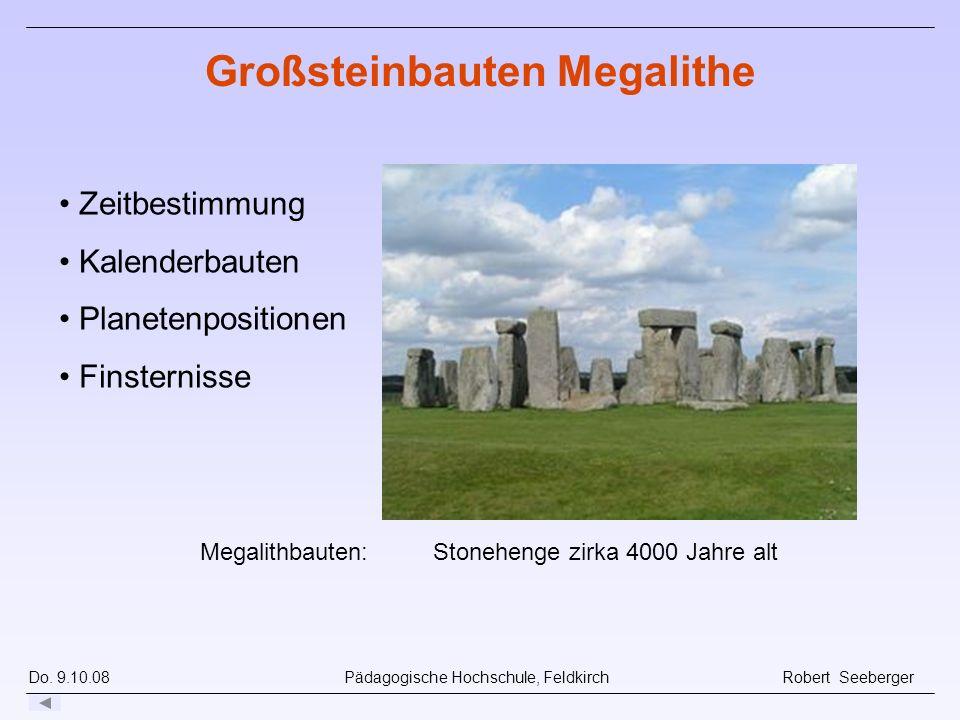 Großsteinbauten Megalithe