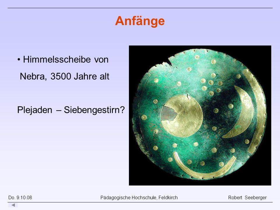 Anfänge Himmelsscheibe von Nebra, 3500 Jahre alt