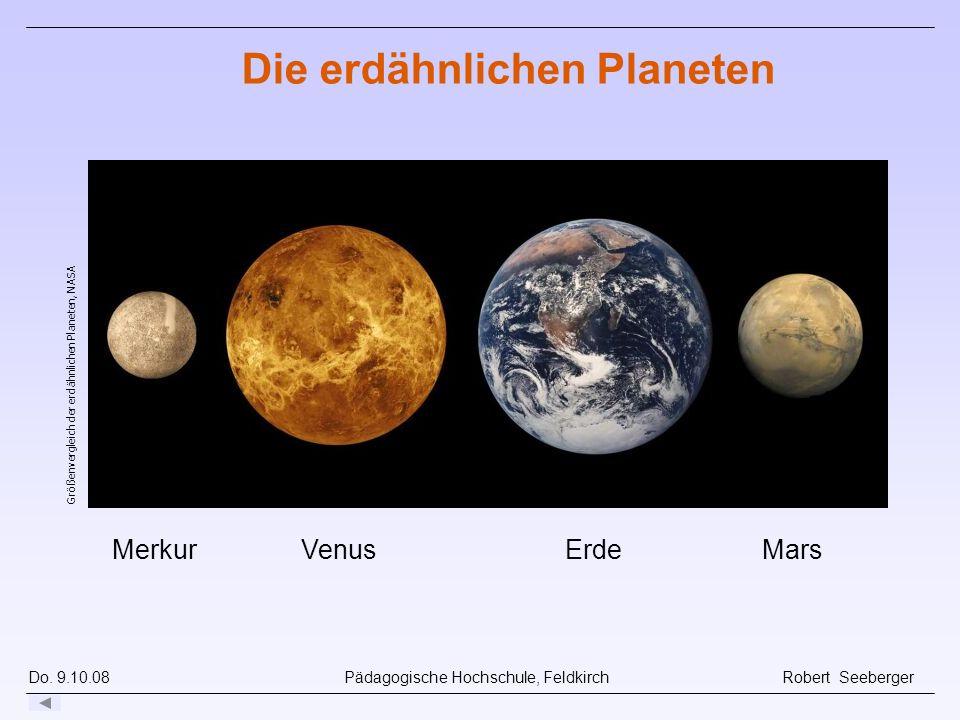 Die erdähnlichen Planeten