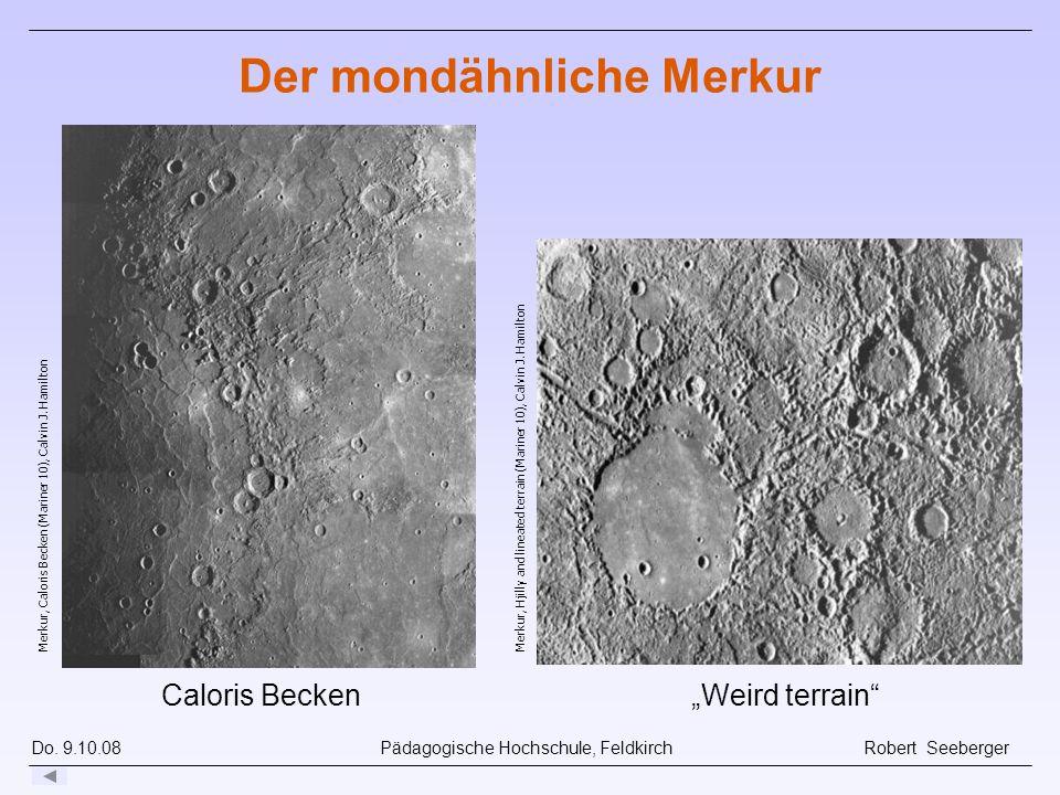 Der mondähnliche Merkur