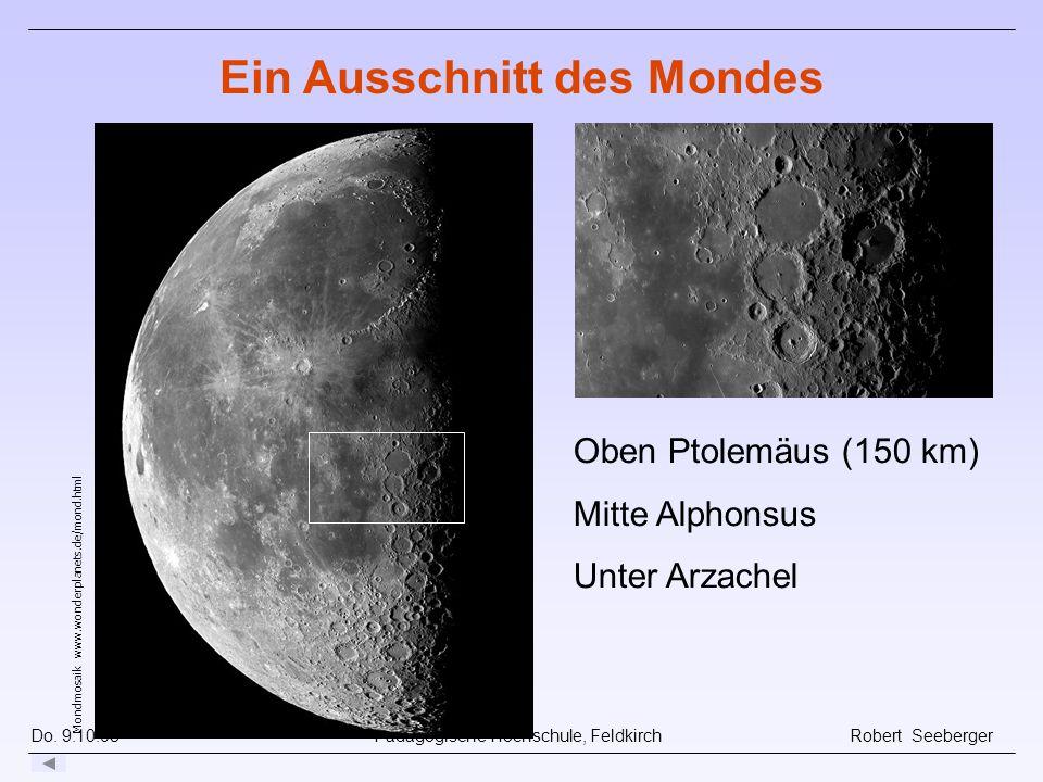 Ein Ausschnitt des Mondes
