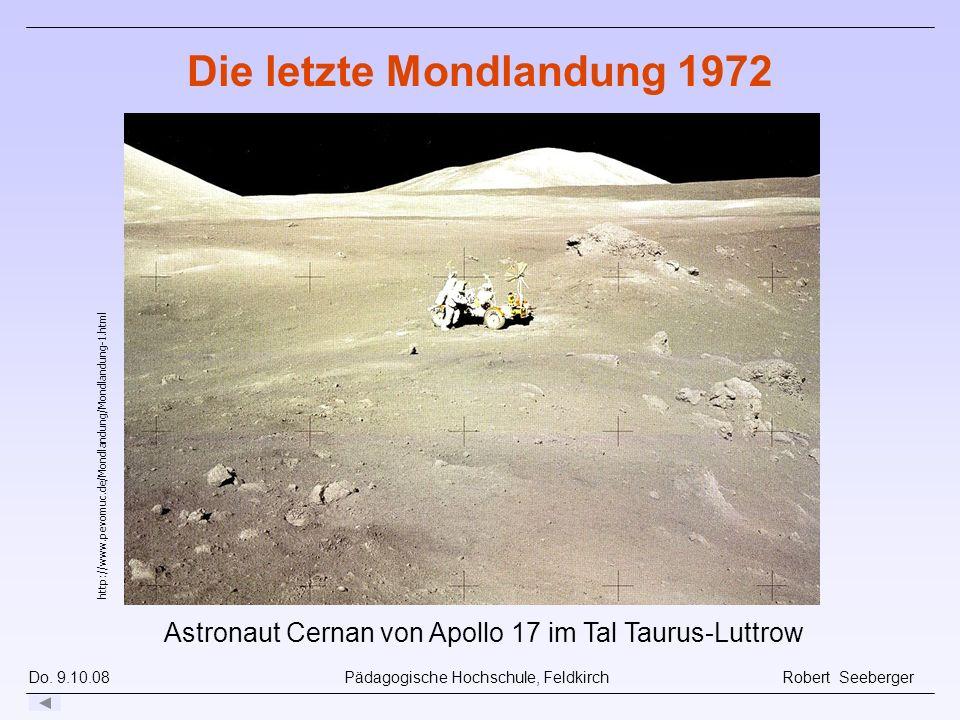 Die letzte Mondlandung 1972