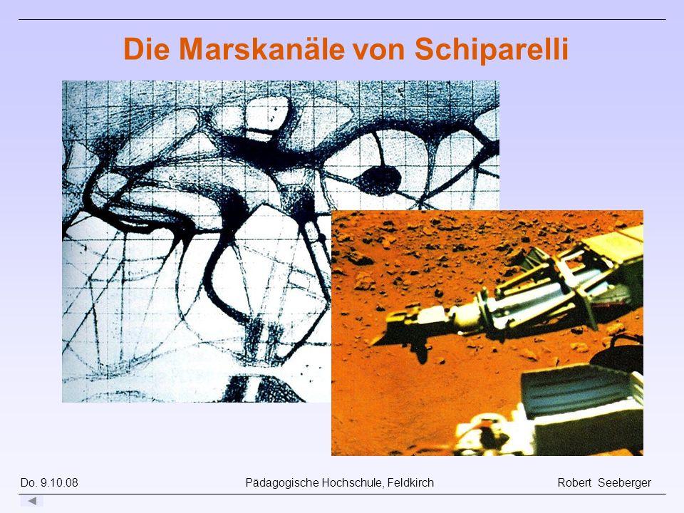 Die Marskanäle von Schiparelli