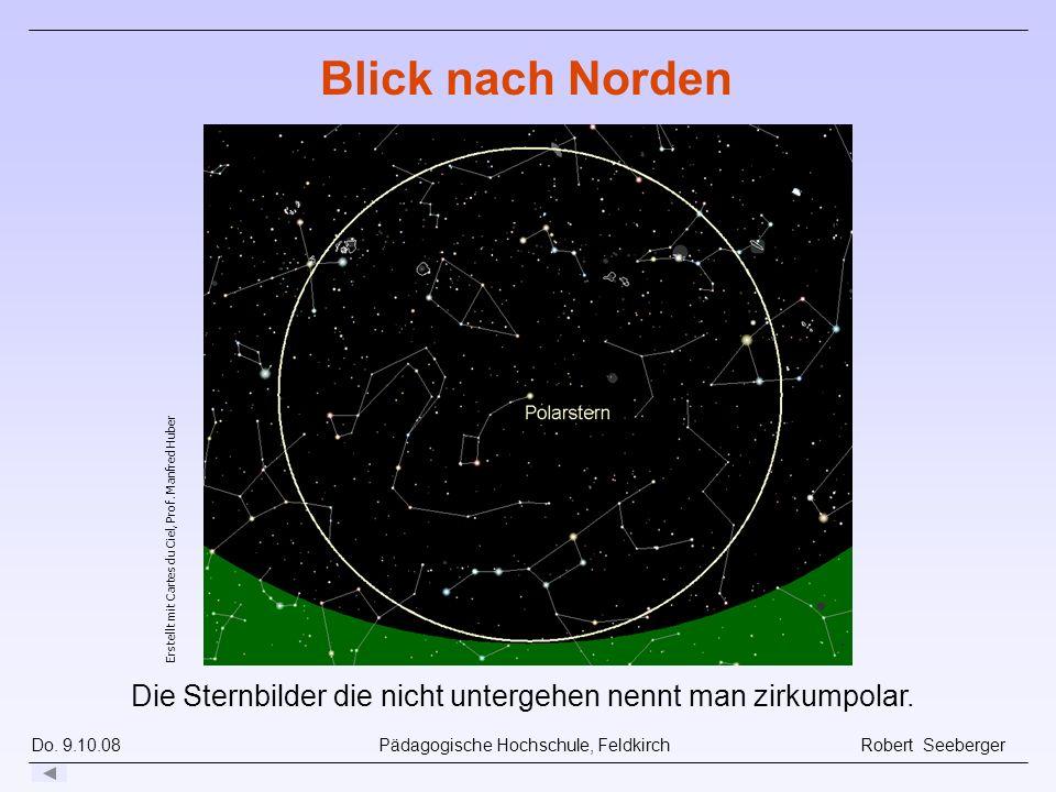 Blick nach Norden Erstellt mit Cartes du Ciel, Prof.