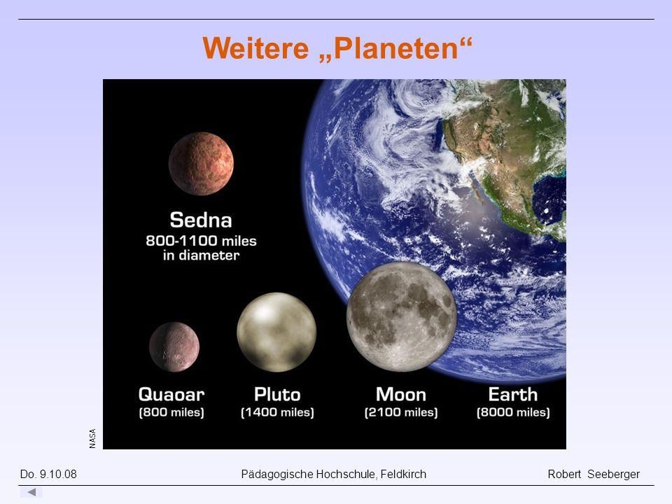 """Weitere """"Planeten"""