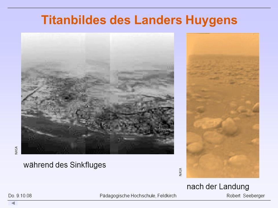 Titanbildes des Landers Huygens