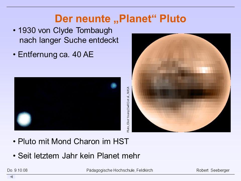 "Der neunte ""Planet Pluto"
