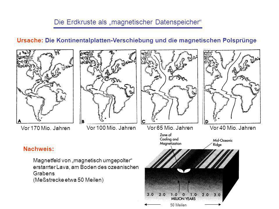 """Die Erdkruste als """"magnetischer Datenspeicher"""