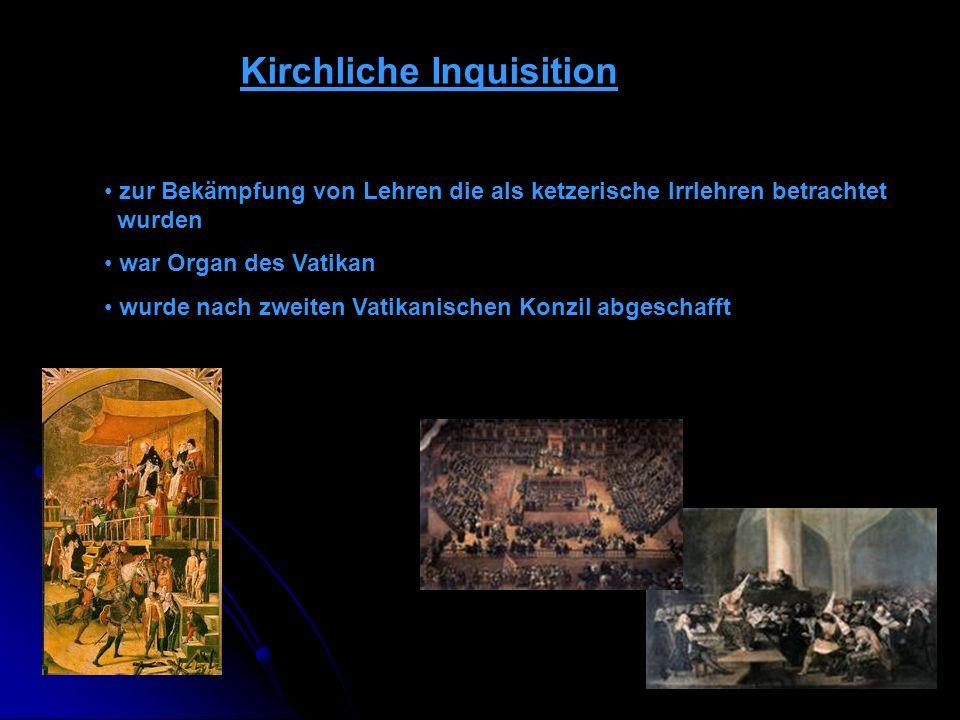 Kirchliche Inquisition