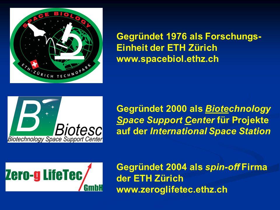 Gegründet 1976 als Forschungs-