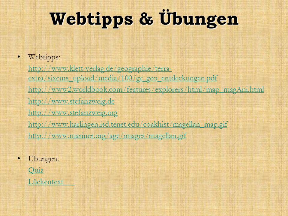 Webtipps & Übungen Webtipps: