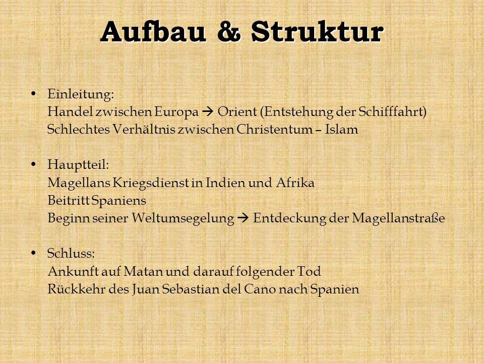 Aufbau & Struktur Einleitung: