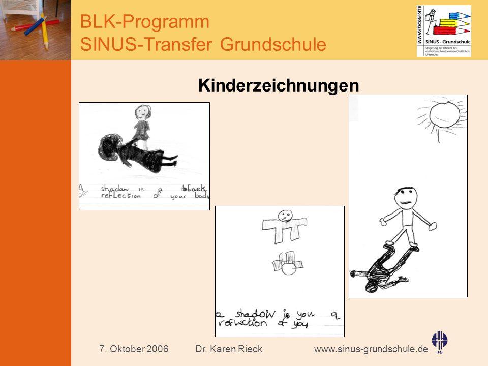 Kinderzeichnungen 7. Oktober 2006 Dr. Karen Rieck