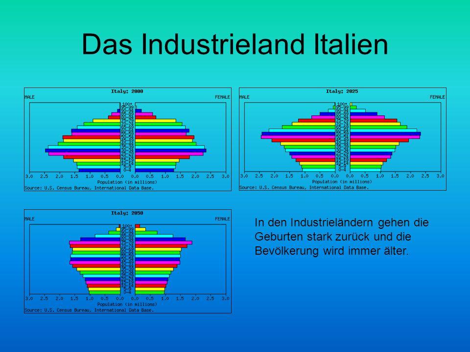 Das Industrieland Italien