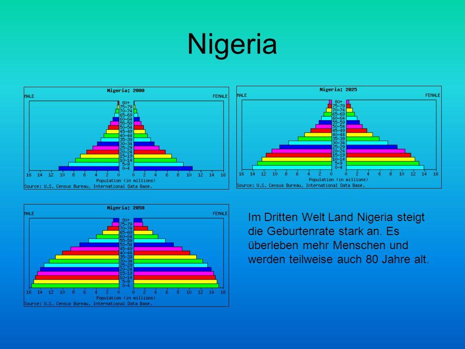 Nigeria Im Dritten Welt Land Nigeria steigt die Geburtenrate stark an.